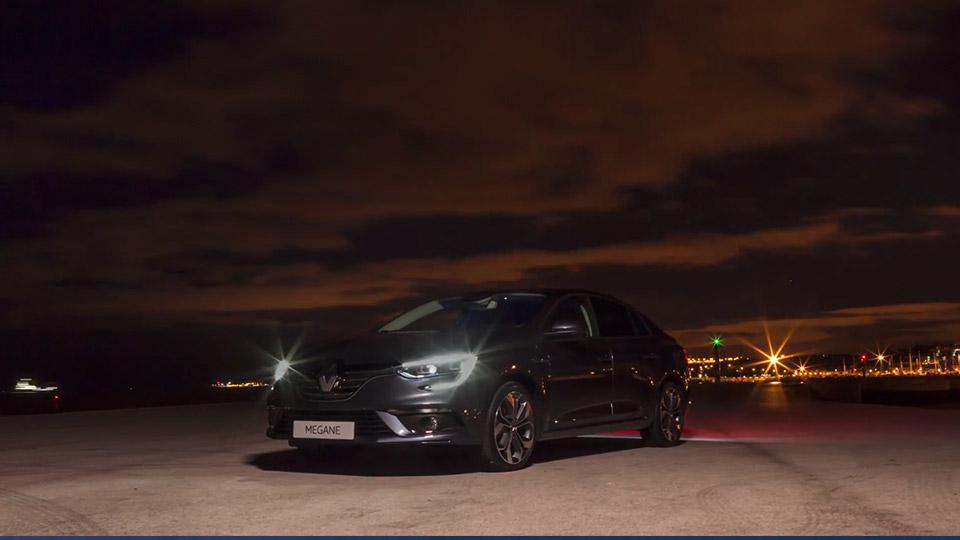 Hyperlapse : Renault Megane Sedan